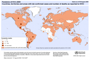 countries-areas with confirmed death _ WHO