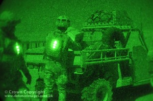 Night Time Airdrop Resupply in Afghanistan