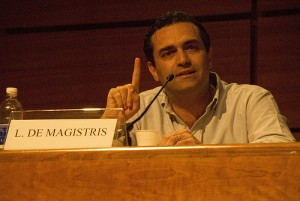 Luigi De Magistris - Foto di Chiarelettere