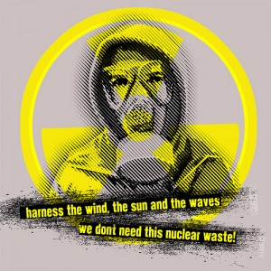 Nuclear Waste - Illustrazione di Seven Resist